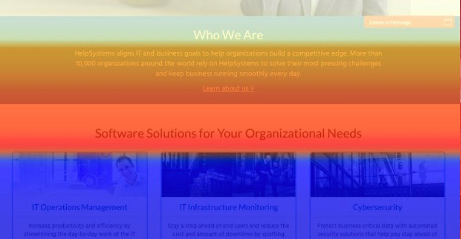 Conversion Rate Optimization Case Study: HelpSystems.com