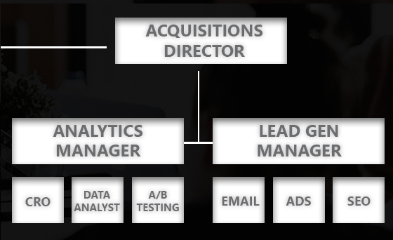 Marketing Acquisitions Direction