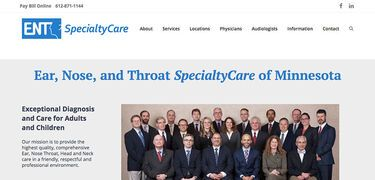 ENTSC Healthcare Website