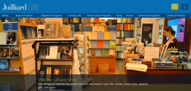 Juilliard Home Page