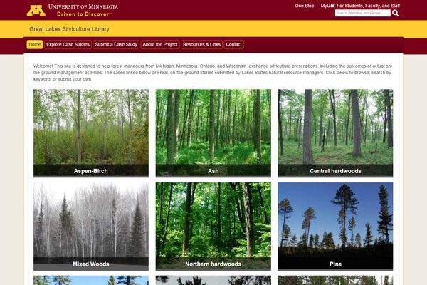 Great Lakes Silviculture Library