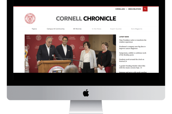 Cornell Chronicle Desktop