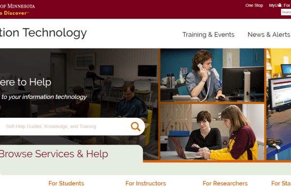 UMN IT Home Page